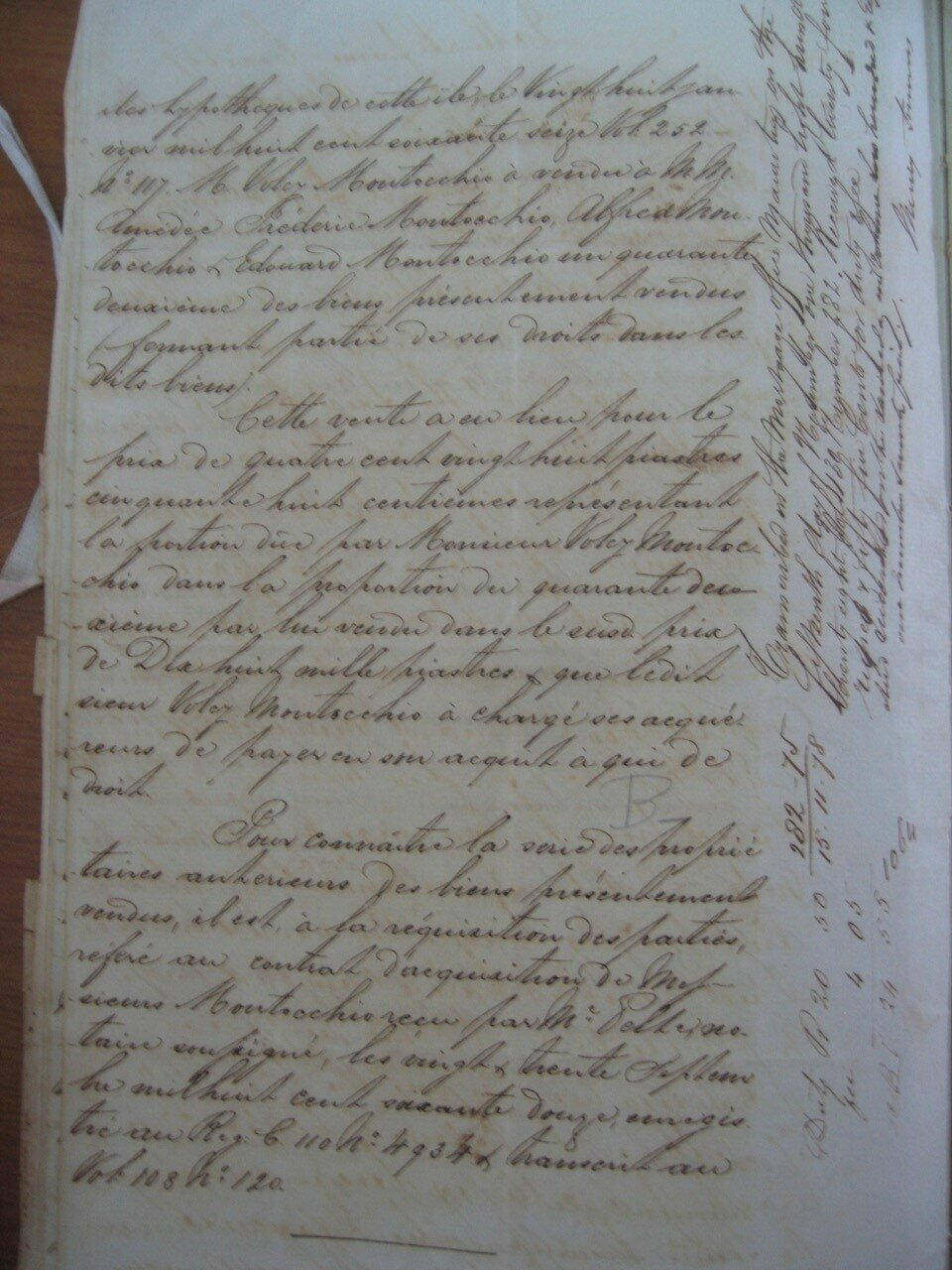 Beau Rivage_Contrat de vente 1878 p9_Marie Helene SHIM