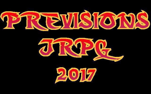Prévisions JRPG 2017