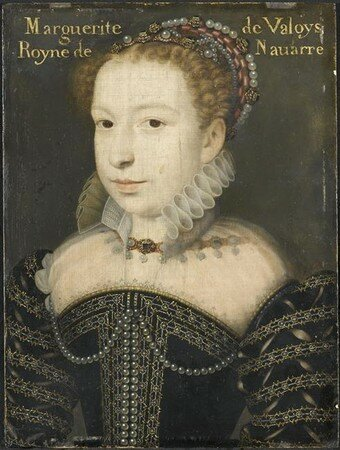 Marguerite de Valois vers 1572 (Chantilly)