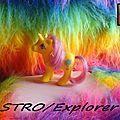(078) G1 Bébés Cheveux d'or / Starlight Baby Ponies
