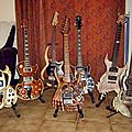 Collection de guitares sculptees....by hazoo!