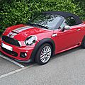 Mini john cooper works roadster 2013
