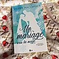 Un mariage sous la neige - debbie macomber