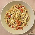Idée recette: salade de pâtes / recipe of the day: pasta salad