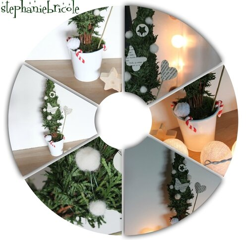 diy noel table tuto deco