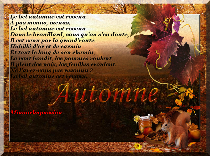 Création minouchapassion automne