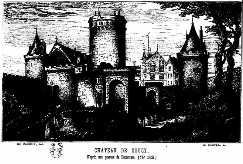 Coucy chateau 16 S