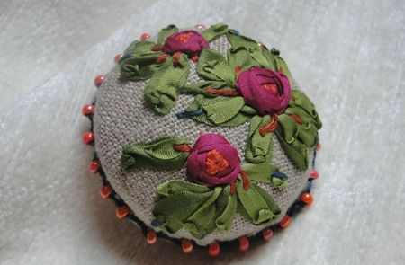 broche roses 1