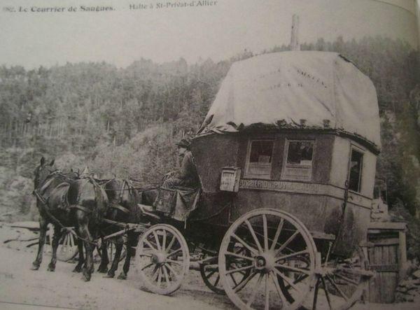 Halte à Saint Privat d'Allier vers 1890