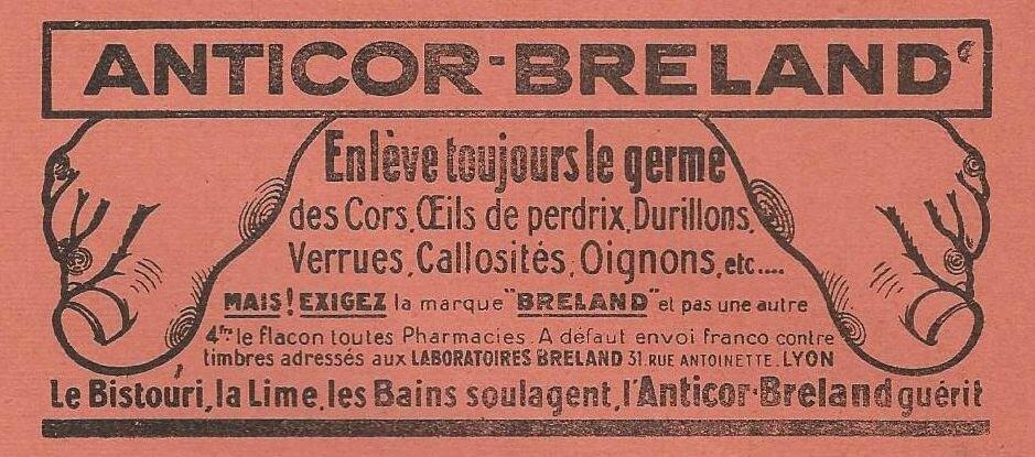 Lou Garounés 1935 Publicités (2)