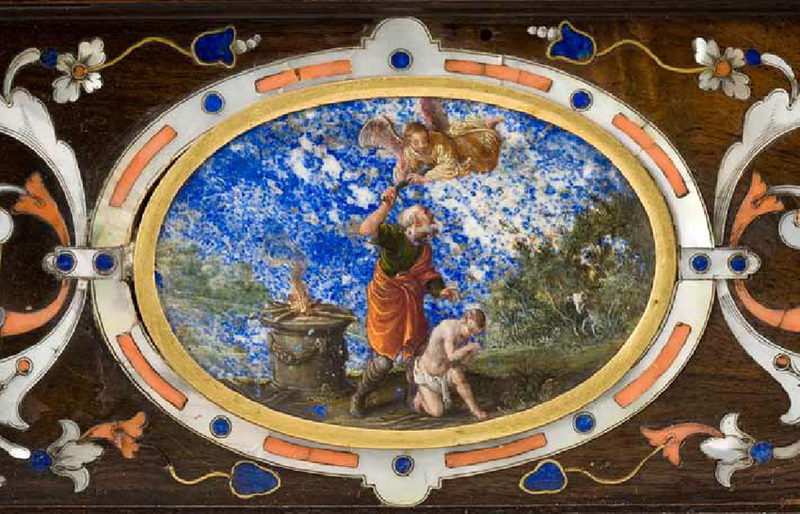 b-Detail-Jacopo-Ligozzi-The-Sacrifice-of-Isaac-Portable-Altar-in-a-Carrying-Case