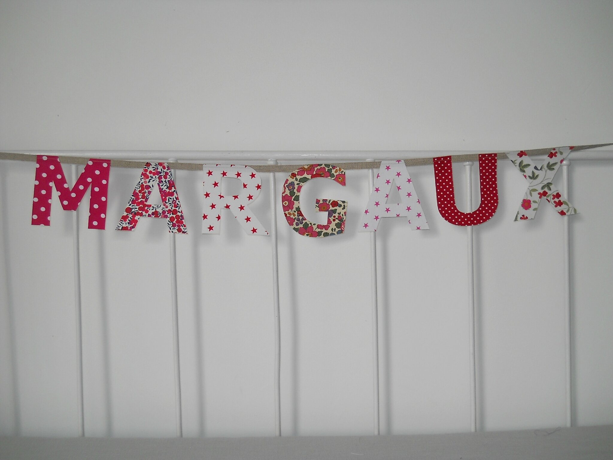 Margaux fuchsia et rouge