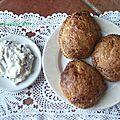 Biscuits feuilletés à la crème de ricotta et chocolat, le lingue di bue