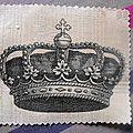 zétiquette couronne