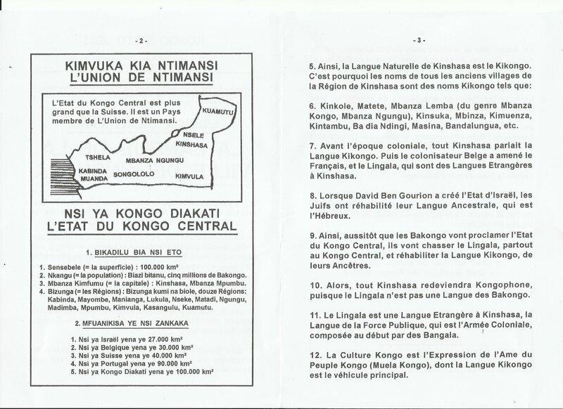 LA LANGUE DE LA VILLE DE KINSHASA b