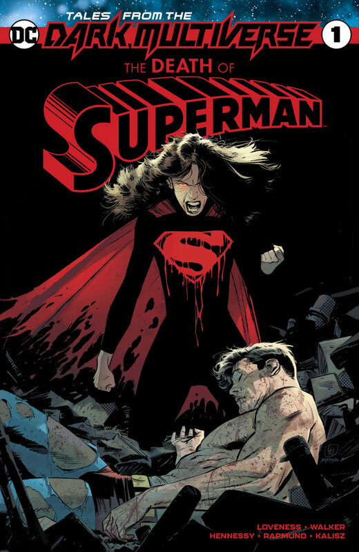 tales from the dark multiverse the death of superman