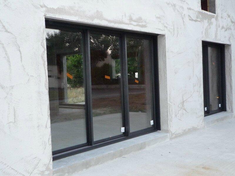 Debut Pose Menuiserie Ext La Construction De Notre Maison Pas A Pas