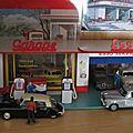 Diorama + garage ESSO 010