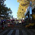 Fête foraine à Saint Aubin dans le cadre de la fête de la Colombette