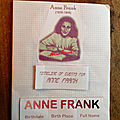 Lapbook Anne Frank
