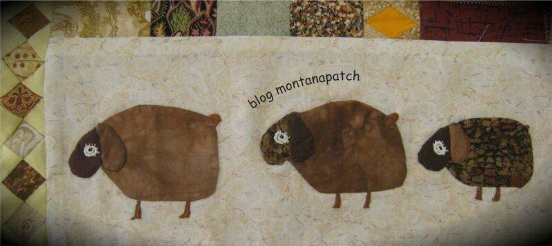 Suzon 92 quilt mystère montanapatch