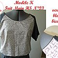 tunique K FMHS23-version blouse bicolore