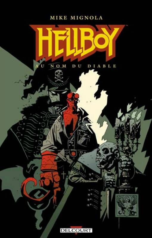 delcourt hellboy 02 au nom du diable