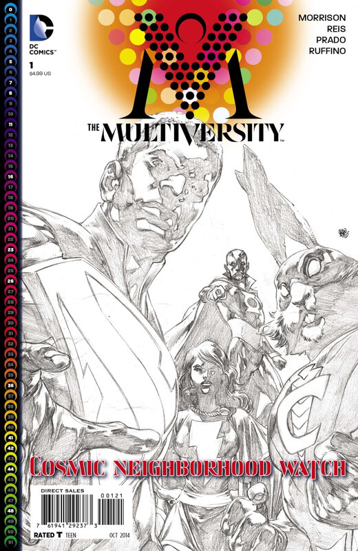 Pack VO The Multiversity by Grant Morrison