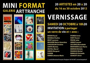 INVITATION A5 MINI FORMAT - ART TRANCHE