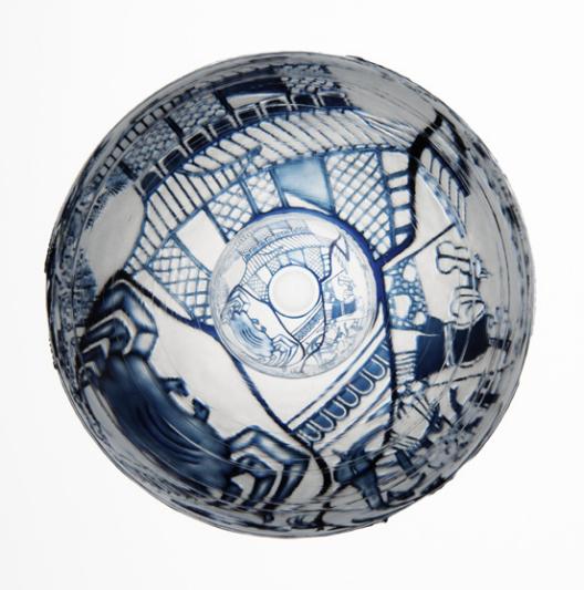 Katharine Coleman, Broken China Bowls, 2013 2