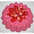 Marguerite aux fraises