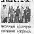 Article exposition Le Trait (te) ment