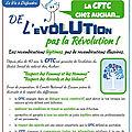 Tract cftc :de l évolution pas la revolution