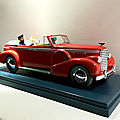 Cadillac fleetwood sedan convertible v16 de 1938 (le taxi de new delhi)