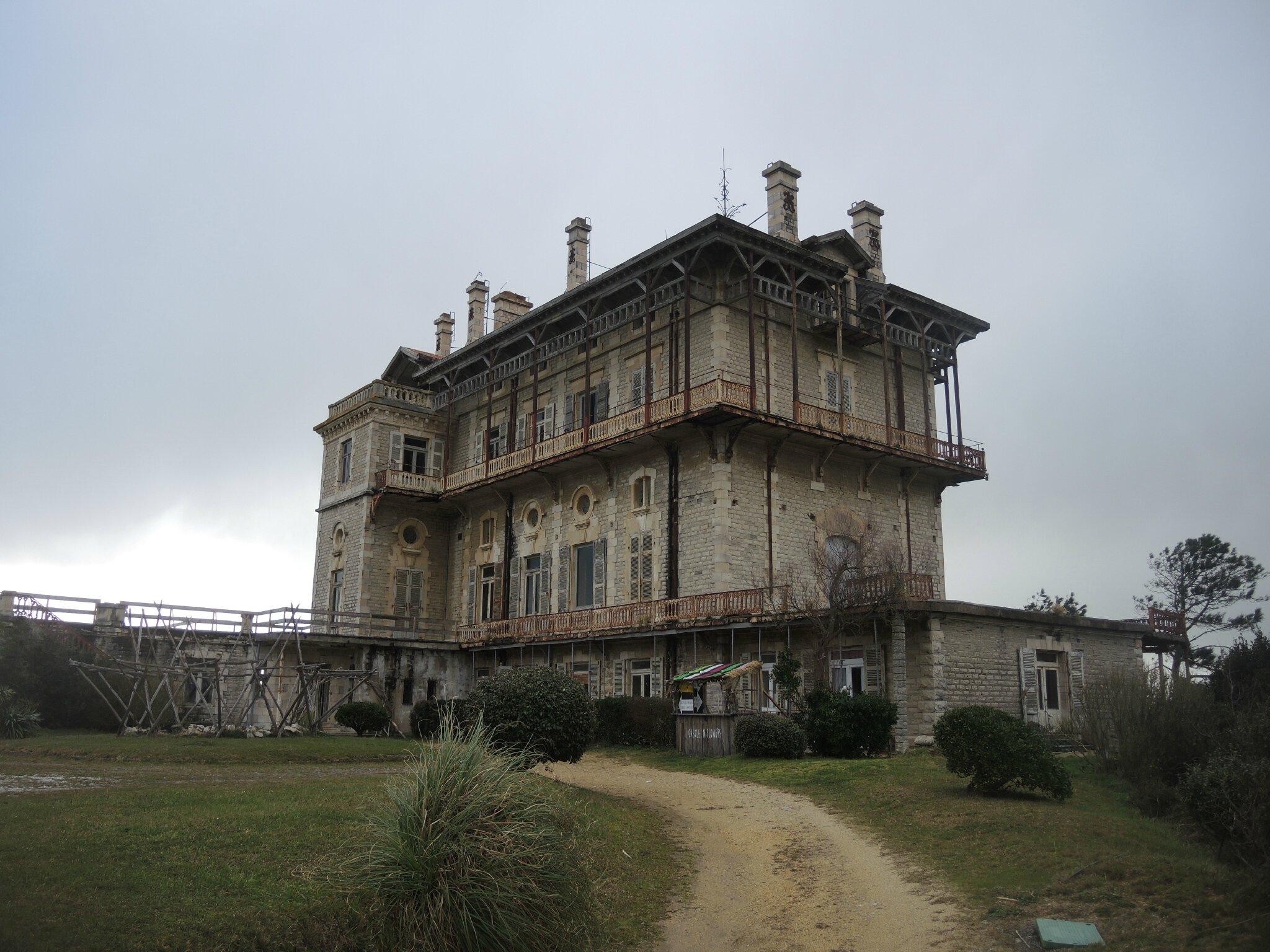 Bidart, château d'Ilbarritz, entrée (64)