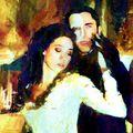 Emmy Rossum et Gerard Butler