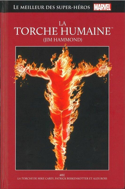 hachette 15 torche humaine jim hammond