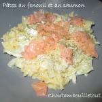 pates saumon fenouil