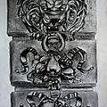 Lion en relief (crayon 30x 40)