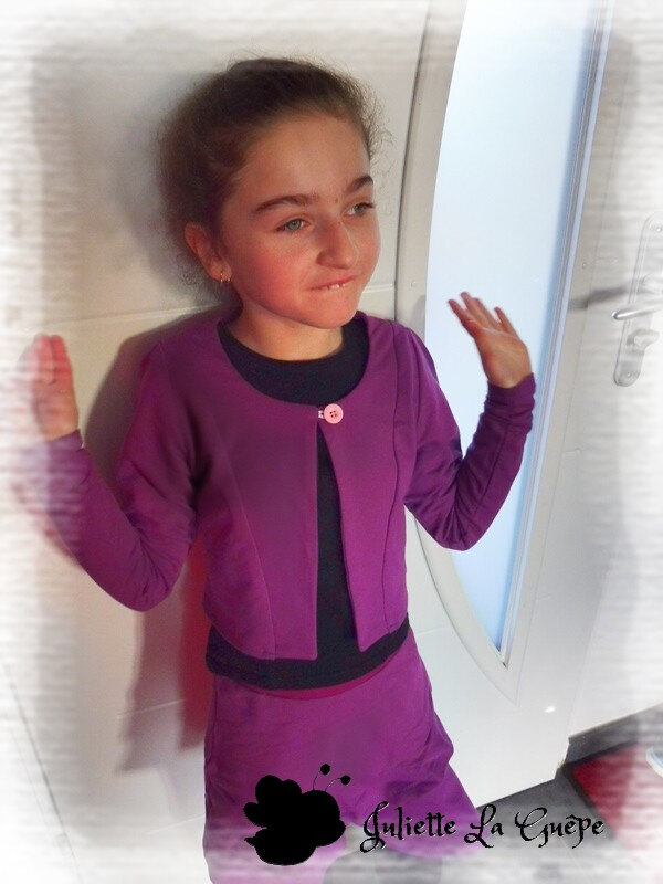 Aura et Nina sweat purple3
