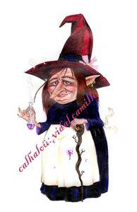sorcière mauviette