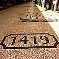 Rue pavée Funchal