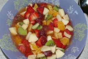 Salade de fruit 1