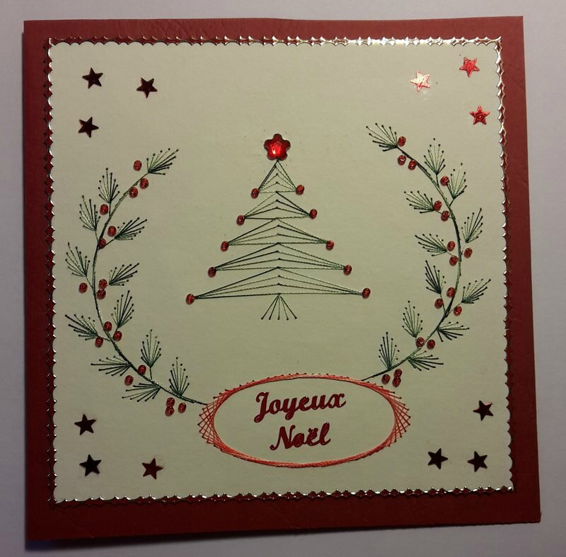 carte Noël 2015 envoyée