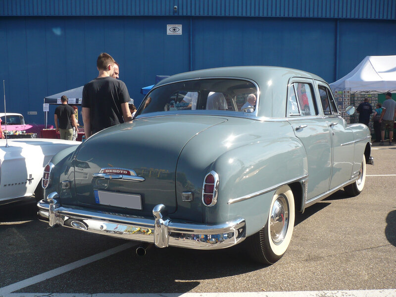 DESOTO Custom 4door Sedan 1950 Sinsheim (2)