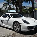 Porsche cayman type 981 2013