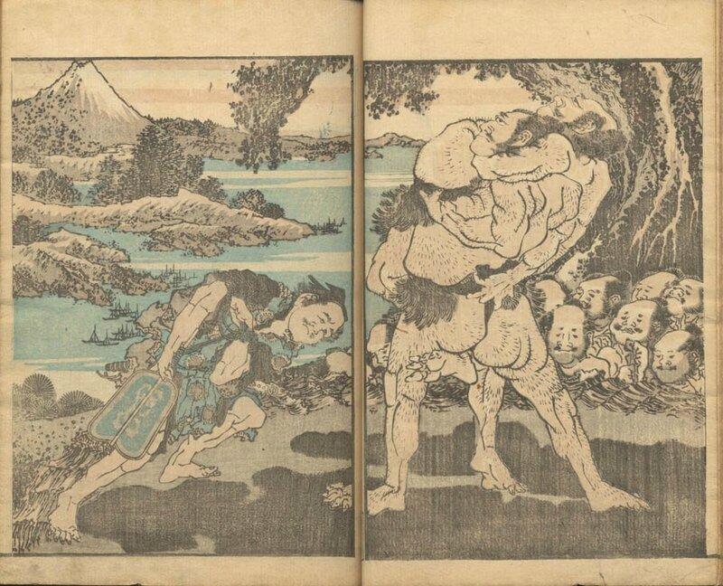 Hokusai Dessin 12