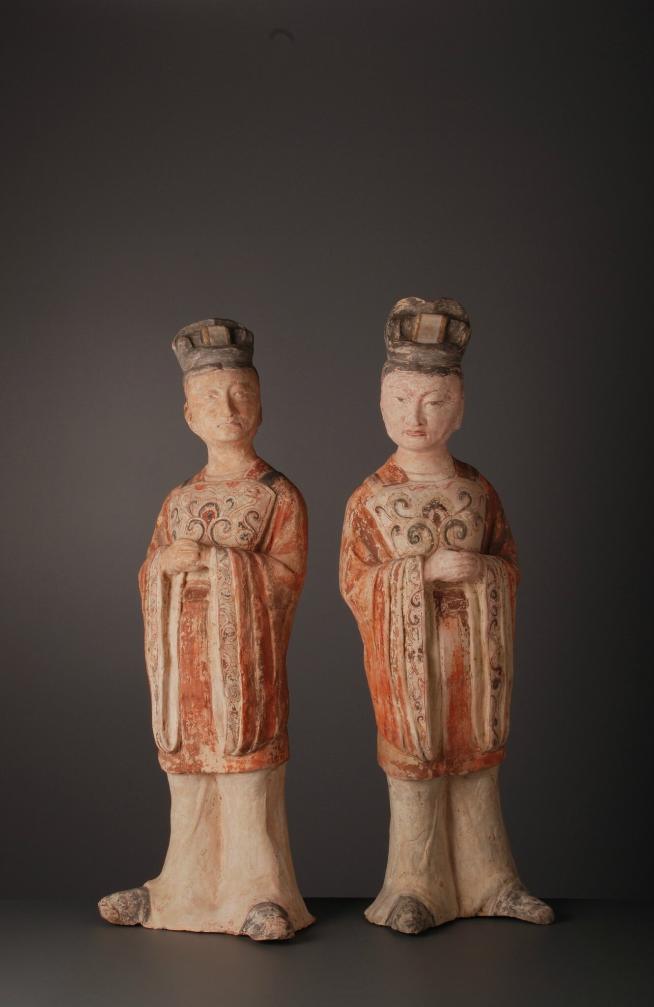 Dignitaries, China, Tang Dynasty (618-907)