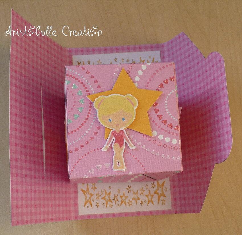 Carte cube pop up gym - face 3