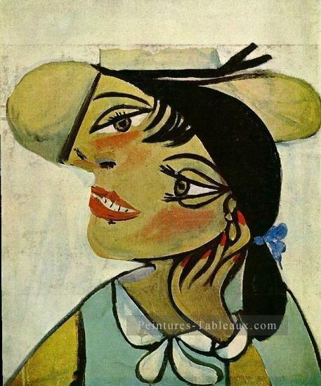 1-Portrait-de-femme-au-col-d-hermine-Olga-1923-Cubist